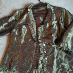 SHIMMERY COCKTAIL JACKET XL